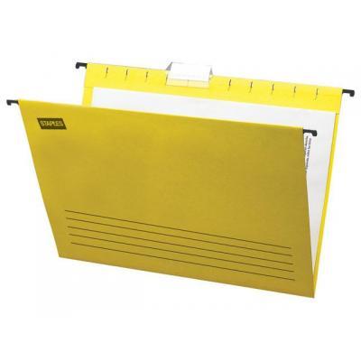Staples hangmap: Hangmap SPLS A4 m/r geel 1121526/ds 25