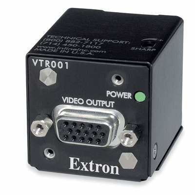Extron VTR001 AV extender - Zwart