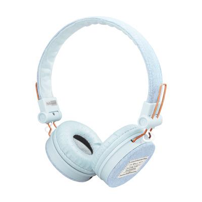 Trust Fyber - Koptelefoon - Light Denim Headset - Blauw