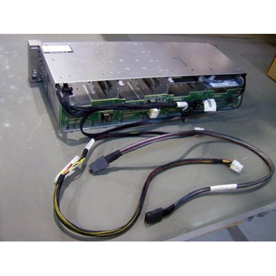 Hewlett Packard Enterprise Drive cage assembly - 8-bay, large form factor (LFF), with .....