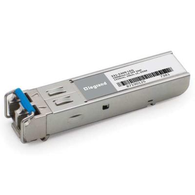 Legrand Dell[R] 331-5309 compatibele TAA-conforme 1000Base-LX SFP transceiver (SMF, 1310 nm, 10 km, LC, DOM) .....
