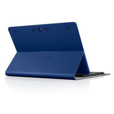 Lenovo tablet case: TAB2 A10-70 Folio Case and Film, Dark Blue - Blauw