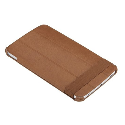 ROCK Texture Tablet case - Brons