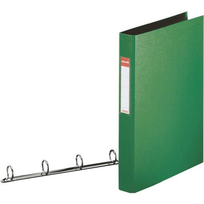 Esselte ringband: Standard Ring Binders , PP Green 4x25 mm - Groen