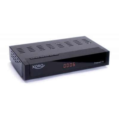 Xoro ontvanger: HRT 8770 TWIN - Zwart
