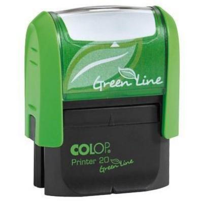 Colop stempel: 20 Green Line