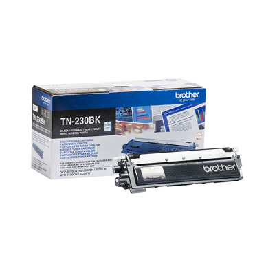 Brother toner: TN-230BK Tonercartridge zwart