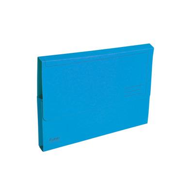 Exacompta Documentenbox Forever A4, 290 g/m², blauw (verpakking 50 stuks) Map
