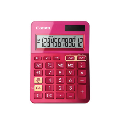 Canon LS-123k Calculator - Roze