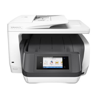Hp multifunctional: OfficeJet 8730 - Zwart, Cyaan, Magenta, Geel