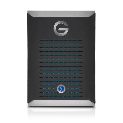G-Technology mobile Pro - Zwart, Zilver