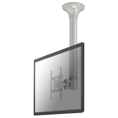 "Newstar flat panel plafond steun: De FPMA-C200 is een plafondsteun voor flat screens t/m 40"" (102 cm) - Zilver"