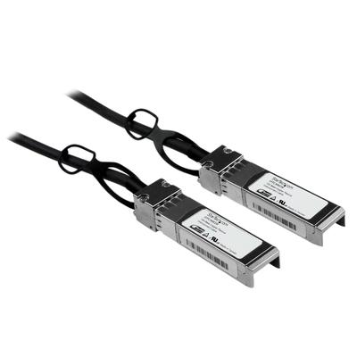 StarTech.com 3m Cisco SFP-H10GB-CU1M compatibel SFP+ 10GbE direct aansluitbare Twinax DAC kabel passief .....
