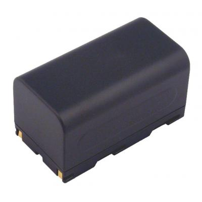 2-power batterij: Camcorder battery, Li-ion, black - Zwart