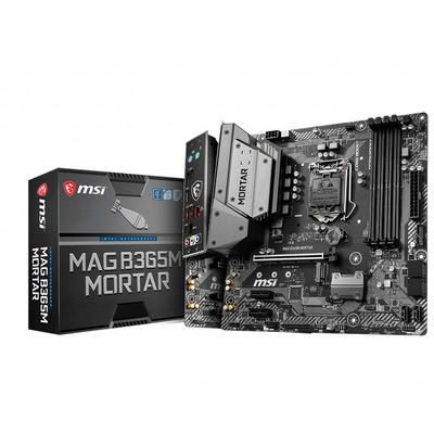 MSI Socket 1151, Intel B365, 4 DIMMs 2666/ 2400/ 2133 MHz DDR4, Micro ATX, 1 x PCI-E 3.0 x16, 2 x PCI-E 3.0 x1, .....