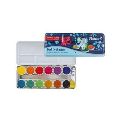 Pelikan verf: Deckfarbkasten DF12 - Multi kleuren