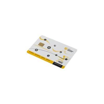 Igel smart card: Smartcard type2 1KB - Zwart, Wit, Geel