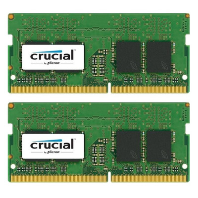Crucial RAM-geheugen: 16GB (2x8GB) DDR4 2400 SODIMM 1.2V