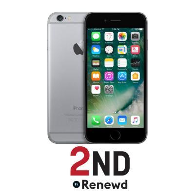 2nd by renewd smartphone: Apple iPhone 6 refurbished door 2ND - 128GB Spacegrijs (Refurbished ZG)