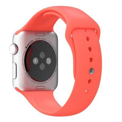 Apple horloge-band: 42mm Pink Sport Band - Roze