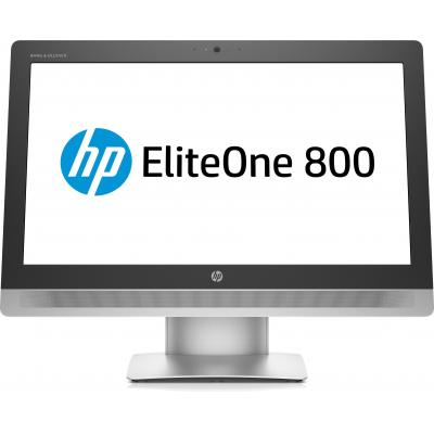 Hp all-in-one pc: EliteOne 800 G2 - Zwart, Zilver (Renew)