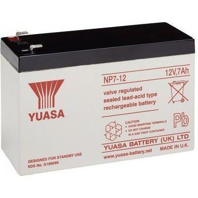 CoreParts MBXLDAD-BA024 UPS batterij - Zwart,Zilver