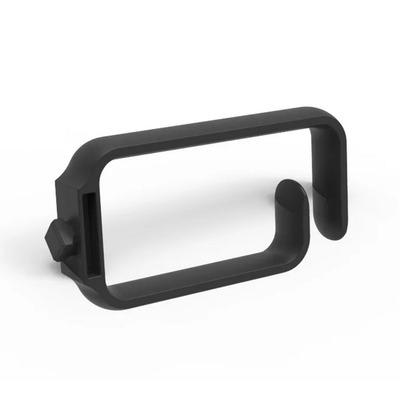 Minkels Set van 10 stuks tool-less mount kabelringen Rack toebehoren - Zwart