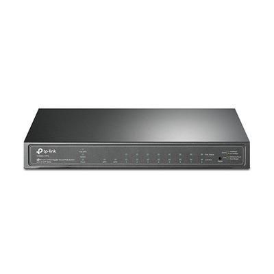 TP-LINK T1500G-10PS(TL-SG2210P) Switch - Zwart