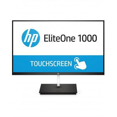 "HP EliteOne 1000 23,8"" Full HD IPS Touch Monitor - Zwart"
