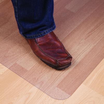 Floortex mat: 119 x 89 cm, Cleartex vloermat - Transparant
