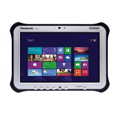 Panasonic tablet: Toughpad FZ-G1 - Zwart, Zilver