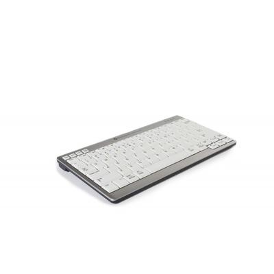 BakkerElkhuizen UltraBoard 950 Wireless - QWERTZ Toetsenbord - Grijs, Wit