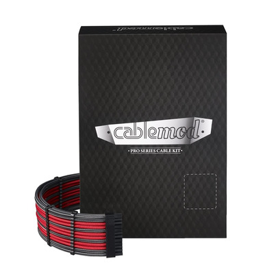 Cablemod C-Series PRO ModMesh Cable Kit for Corsair AXi/HXi/RM - Koolstof,Rood