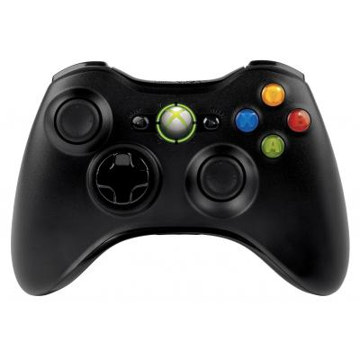 Microsoft game controller: Xbox 360 Wireless Controller - Zwart