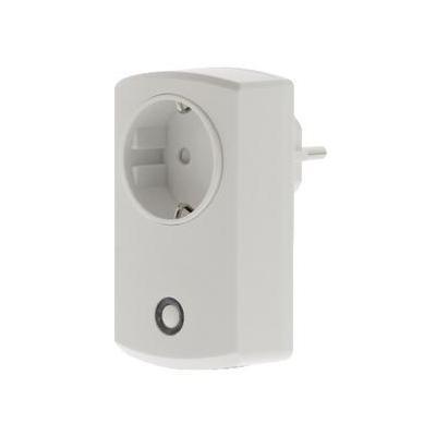 König elektrische fitting koppelaar: Smart power socket for SAS-CLALARM10 - Wit