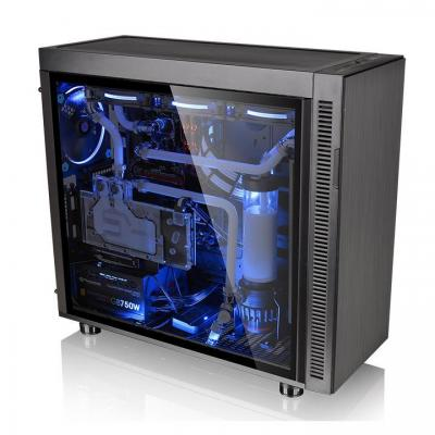 Thermaltake behuizing: Suppressor F51 Tempered Glass Edition - Zwart
