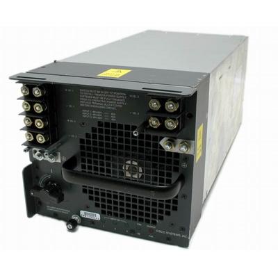 Cisco 4000W DC power supply for 7609/7613, DC, Spare Power supply unit - Zwart