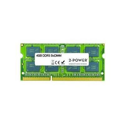 2-power RAM-geheugen: 4GB DDR3 1066MHz SODIMM - Groen