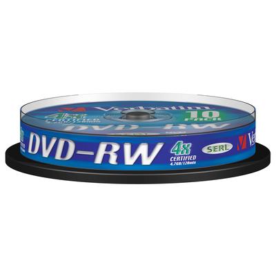 Verbatim DVD-RW Matt Silver 4x DVD