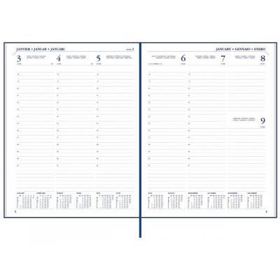 Staples kalander: Agenda SPLS Paris Eco 170x210 7d2p 6t bl