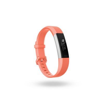 Fitbit wearable: Alta HR - Koraal, Roestvrijstaal