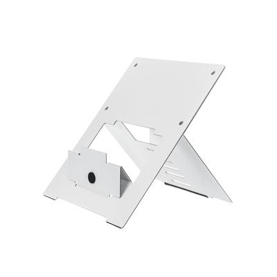 R-Go Tools R-Go Riser Flexible Laptopstandaard, verstelbaar, wit Notebooksteun