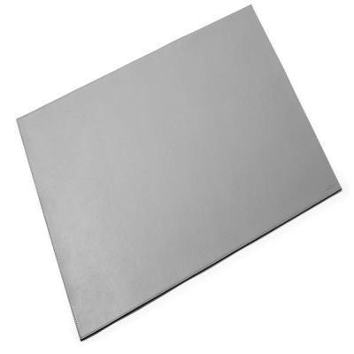 Durable Leather desk mat, 650x450 mm Bureaulegger - Grijs