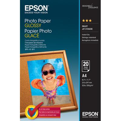 Epson Photo Paper Glossy Fotopapier - Wit