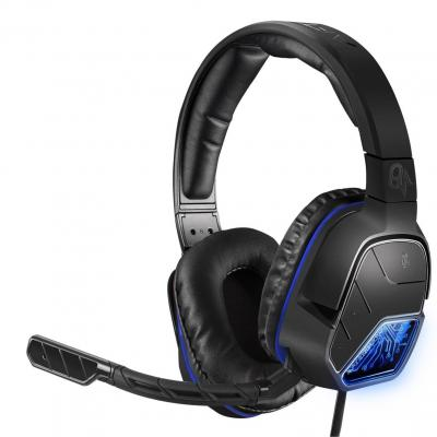 Afterglow game assecoire: - LVL 5 Plus - Wired Stereo Headset (Quadboost) (Black)  PS4