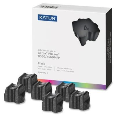 Katun inkt stick: Solid Black Ink Sticks for Phaser 8560, 6800 Yield - Zwart