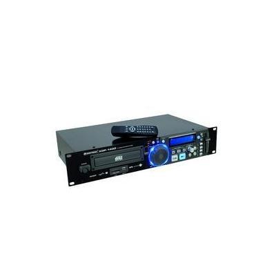 Omnitronic CD speler: XDP-1400 - Zwart