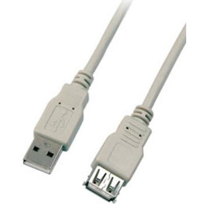 EFB Elektronik 3m M/FM USB 2.0 USB kabel - Grijs