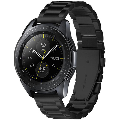 Spigen Galaxy Watch 3 (41mm) Watch Band Modern Fit (20mm) - Zwart