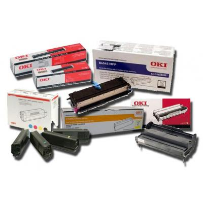 OKI cartridge: Toner C801/C821, Yellow, 7300 Pages - Geel